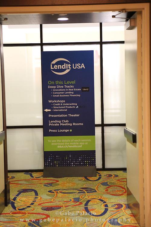 LendIt USA 2016 conference in San Francisco, California, USA on April 12, 2016. (photo by Evans Vestal Ward)