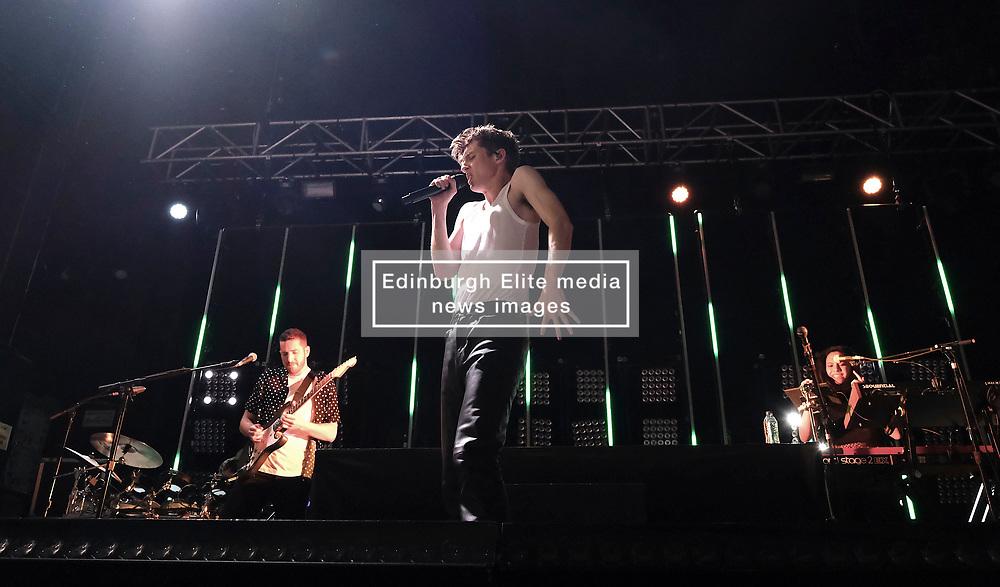 Troye Sivan, The Bloom Tour, Glasgow, Saturday 23rd February 2019<br /> <br /> Pictured: Troye Sivan<br /> <br /> (c) Aimee Todd | Edinburgh Elite media