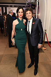 Ronnie Wood and his wife Sally attend the Tusk Conservation Awards at Banqueting House, London.