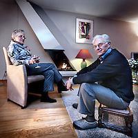 Nederland, Uithoorn , 9 januari 2012..De familie Bouma uit Uithoorn heeft moeite met de verkoop van hun huis. Ze willen graag kleiner gaan wonen in amstelveen maar de woningmarkt werkt niet mee door de crisis..Foto:Jean-Pierre Jans