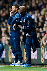 QPR Manager Chris Ramsey gestures - Photo mandatory by-line: Rogan Thomson/JMP - 07966 386802 - 07/04/2015 - SPORT - FOOTBALL - Birmingham, England - Villa Park - Aston Villa v Queens Park Rangers - Barclays Premier League.