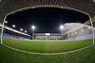 a General view of inside the goal mouth at Selhurst Park before k/o. Barclays Premier league match, Crystal Palace v Sunderland at Selhurst Park in London on Monday 23rd November 2015.<br /> pic by John Patrick Fletcher, Andrew Orchard sports photography.