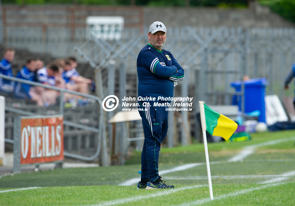 20-06-21. Donaghmore/Ashbourne v Navan O'Mahony's - Premier Football Championship Division 8 Final 2020 at Pairc Tailteann.<br /> Mark Power, Donaghmore/Ashbourne Manager.<br /> Photo: John Quirke / www.quirke.ie<br /> ©John Quirke Photography, 16 Proudstown Road, Navan. Co. Meath. (info@quirke.ie / 046-9028461 / 087-2579454).