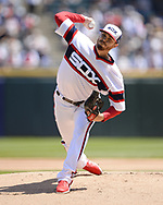 CHICAGO - MAY 05:  Dylan Covey #68 of the Chicago White Sox pitches against the Boston Red Sox on May 5, 2019 at Guaranteed Rate Field in Chicago, Illinois.  (Photo by Ron Vesely)  Subject:  Dylan Covey