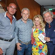 NLD/Amsterdam/20150604 - Boekpresentatie advocaat Mark Teurlings, Marcel Zwoferink, Peter R. de Vires, Monique Sluyter