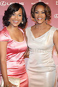 Lisa Raye and Vivica Fox at The Essence Magazine Celebrates Black Women in Hollywood Luncheon Honoring Ruby Dee, Jada Pickett Smith, Susan De Passe & Jurnee Smollett at the Beverly Hills Hotel on February 21, 2008 in Beverly Hills, CA