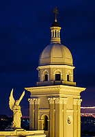 SANTIAGO DE CUBA, CUBA - CIRCA JANUARY 2020: Cathedral Basilica of Our Lady of the Assumption in Santiago de Cuba