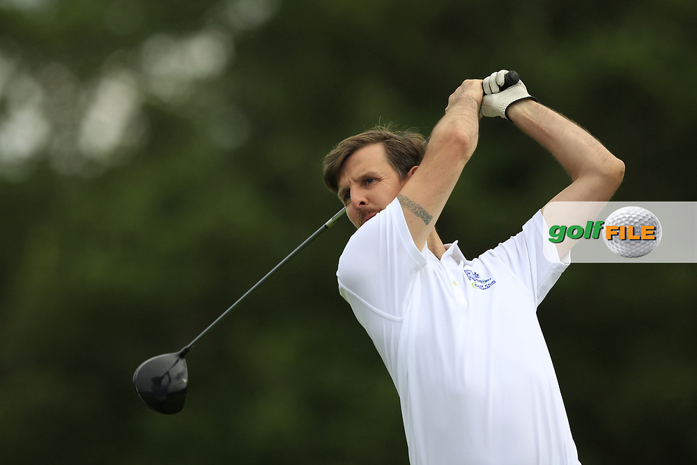 Mark Moran (Athenry) on the 1st tee during the Final of the AIG Jimmy Bruen Shield in the AIG Cups & Shields Connacht Finals 2019 in Westport Golf Club, Westport, Co. Mayo on Sunday 11th August 2019.<br /> <br /> Picture:  Thos Caffrey / www.golffile.ie<br /> <br /> All photos usage must carry mandatory copyright credit (© Golffile | Thos Caffrey)
