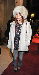 JAIME WINSTONE at the Cirque du Soleil's gala premier of Quidam held at the Royal Albert Hall, London on 6th January 2009