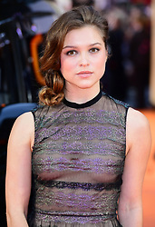 Sophie Cookson attending the World Premiere of Kingsman: The Golden Circle, at Cineworld in Leicester Square, London. Picture Date: Monday 18 September. Photo credit should read: Ian West/PA Wire