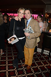 SACHA NEWLEY and SARAH WOODHEAD at a party to celebrate the publication of 'Passion for Life' by Joan Collins held at No41 The Westbury Hotel, Mayfair, London on21st October 2013.