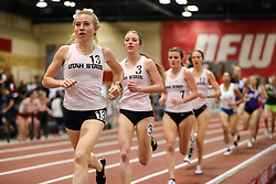 Don Kirby Invitational Indoor Track & Field<br /> Albuquerque, NM, Feb 14, 2020<br /> womens mile, Utah State