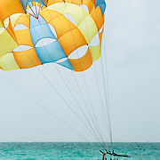 Parasailing in the Punta Cana