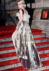 Lucy Boynton attending the 72nd British Academy Film Awards held at the Royal Albert Hall, Kensington Gore, Kensington, London