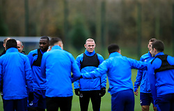 Everton's Wayne Rooney (centre) during the training session at Finch Farm, Liverpool. PRESS ASSOCIATION Photo. Picture date: Wednesday November 22, 2017. See PA story SOCCER Everton. Photo credit should read: Peter Byrne/PA Wireduring the training session at Finch Farm, Liverpool. PRESS ASSOCIATION Photo. Picture date: Wednesday November 22, 2017. See PA story SOCCER Everton. Photo credit should read: Peter Byrne/PA Wire