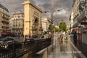 Porte Saint Denis, Paris, France