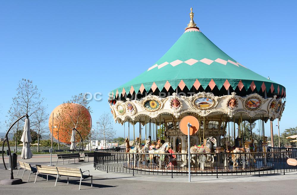 Carousel at Orange County Great Park Irvine