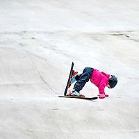 Rookie Serie.<br /> Nederland, Rotterdam, 15-11-2015<br /> Tekst : Skiën, Outdoor Ski, Kids, Rotterdam<br /> Foto: Klaas Jan van der Weij