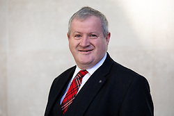© Licensed to London News Pictures. 21/10/2018. London, UK. Scottish National Party politician Ian Blackford arriving at BBC Broadcasting House this morning. Photo credit : Tom Nicholson/LNP