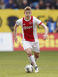 Matthijs de Ligt of Ajax during the Dutch Eredivisie match between Vitesse Arnhem and Ajax Amsterdam at Gelredome on March 04, 2018 in Arnhem, The Netherlands