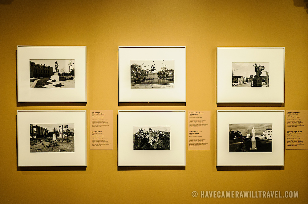 Photography exhibit at the Donald W. Reynolds Center for American Art and Portraiture in downtown Washington DC.