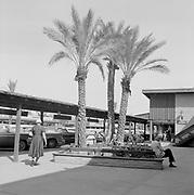 0001-F70-07. area at N. 1st Ave. & Monroe, Phoenix, Arizona. March 7, 1957.
