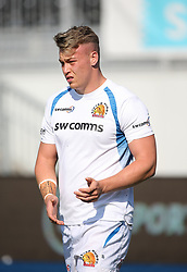 Richard Capstick of Exeter Chiefs - Mandatory by-line: Arron Gent/JMP - 13/09/2020 - RUGBY - Allianz Park - London, England - Saracens v Exeter Chiefs - Gallagher Premiership Rugby