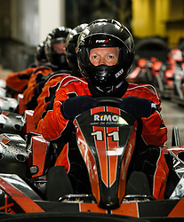 Pictured: Willie Rennie<br /> <br /> Scottish Liberal Democrat leader Willie Rennie put the foot down as he took to the track at Xtreme Karting at Newbridge today accompanied by Edinburgh Western candidate Alex Cole-Hamilton and Perthshire North candidate Peter Barrett. The Lib Dems have not constituency MSP in the area in the past and hope to raise their profile ahead of the election on Thursday.<br /> <br /> Ger Harley | EEm 2 May 2016
