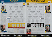 All Ireland Senior Hurling Championship Final,.08.09.2002, 09.08.2002, 8th September 2002,.Senior Kilkenny 2-20, Clare 0-19,.Minor Kilkenny 3-15, Tipperary 1-7,.8092002AISHCF,.Clare, 1 David Fitzgerald, Sixmilebridge, 2 Brian Quinn, Tulla, 3 Brian Lohan, Wolfe Tones na Sionna, 4 Frank Lohan, Wolfe Tones na Sionna, 5 David Hoey, St Joseph's Doora Barefield, 6 Sean McMahon, St Joseph's Doora Barefield, 7 Duine Eile, 8 John Reddan, Sixmilebridge, 9 Colin Lynch, Lissycasey, 10 James O'Connor, St Joseph's Doora Barefield, 11 Tony Griffin, Ballyea, 12 Alan Markham, Kilmaley, 13 Tony Carmody, Inagh, 14 Niall Gilligan, Sixmilebridge, 15 David Forde, Ogonnelloe, ..Kilkenny, 1 James McGarry, 2 Michael Kavanagh, St Lachtains, 3 Noel Hickey, Dunnamaggin, 4 Phillip Larkin, James Stephens, 5 Richard Mullally, Glenmore, 6 Peter Barry, James Stephens, 7 JJ Delaney, Fenians, 8 Andy Comerford, O'Loughlin Gaels, 9 Derek Lyng, Emeralds, 10 John Hoyne, Graig Ballycallan, 11 Henry Shefflin, Ballyhale Shamrocks, 12 Jimmy Coogan, Tullaroan, 13 Eddie Brennan, Graig Brennan, 14 Martin Comerford, O'Loughlin Gaels, 15 DJ Carey D S O Ciara, Young Irelands,