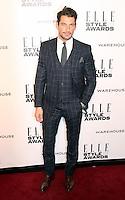 David Gandy, ELLE Style Awards, One Embankment, London UK, 18 February 2014, Photo by Richard Goldschmidt