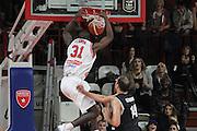 Christian Eyenga<br /> Openjobmetis Pallacanestro Varese - PAOK Salonicco<br /> Basketball Champions League 2016/2017<br /> Varese 01/11/2016<br /> Foto Ciamillo-Castoria :