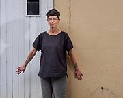 Lausanne, août 2022. Elise Gagnebin-de Bons, plasticienne. © Olivier Vogelsang