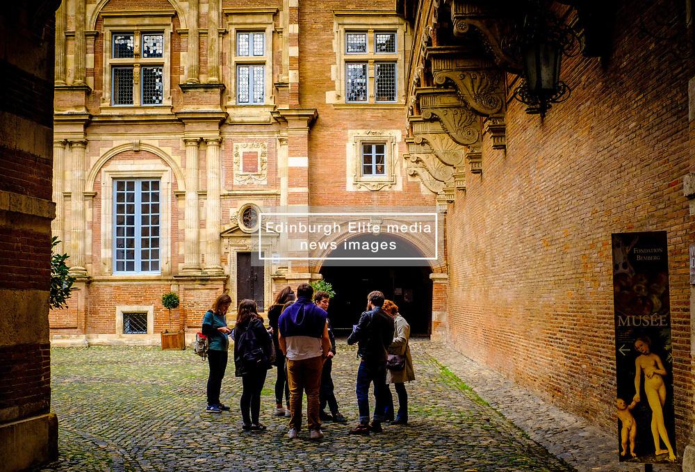 The Société Archéologique du Midi de la France - The courtyard of the Archaeological Museum in Toulouse, France<br /> <br /> (c) Andrew Wilson   Edinburgh Elite media