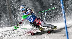 12.01.2016, Hermann Maier Weltcupstrecke, Flachau, AUT, FIS Weltcup Ski Alpin, Flachau, Damen, Slalom, 1. Lauf, im Bild Eva-Maria Brem (AUT) // Eva-Maria Brem of Austria during the 1st run of Ladies Slalom for the FIS Ski Alpine World Cup at Hermann Maier Weltcupstrecke in Flachau, Switzerland on 2016/01/12. EXPA Pictures © 2016, PhotoCredit: EXPA/ Johann Groder