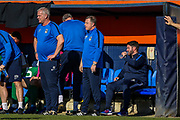 Coventry City Manager Mark Robins during the EFL Sky Bet League 1 match between Luton Town and Coventry City at Kenilworth Road, Luton, England on 24 February 2019.