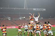 Heavy rain full's during their Round 5 ITM cup Rugby match, Waikato v Tasman, at Waikato Stadium, Hamilton, New Zealand, Friday 29 July 2011. Photo: Dion Mellow/photosport.co.nz