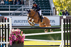 Angot Cedric, FRA, Talent Des Moitiers<br /> Spruce Meadows Masters - Calgary<br /> © Dirk Caremans<br /> 05/09/2018