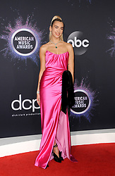 Dua Lipa at the 2019 American Music Awards held at the Microsoft Theater in Los Angeles, USA on November 24, 2019.
