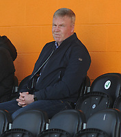 Football - 2020 / 2021 Vanarama National League - Barnet vs Sutton United - The Hive Stadium<br /> <br /> Manager, Kenny Jackett watches the match from the stand<br /> <br /> Credit : COLORSPORT/ANDREW COWIE