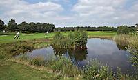 EXLOO - Hole 10 van Golfpark Exloo in Drenthe. FOTOGRAFIE KOEN SUYK