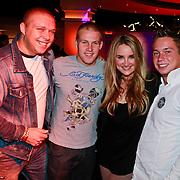 NLD/Hilversum/20110228 - Voorjaarspresentatie Net5, Tony Wyczynski, Sterretje, Jokertje , Lieke van Lexmond en Joey Spaan, Matsoe Matsoe