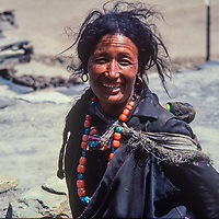 the Manang Valley north of Annapurna in Nepal.