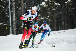 March 16, 2019 - –Stersund, Sweden - 190316 Lars Helge Birkeland of Norway competes in the Men's 4x7,5 km Relay during the IBU World Championships Biathlon on March 16, 2019 in Östersund..Photo: Johan Axelsson / BILDBYRÃ…N / Cop 245 (Credit Image: © Johan Axelsson/Bildbyran via ZUMA Press)