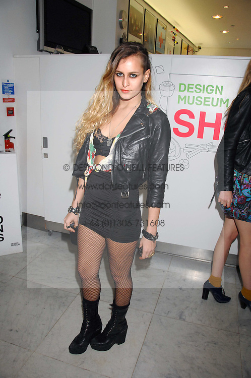 ALICE DELLAL at a reception hosted by Vogue magazine to launch photographer Tim Walker's book 'Pictures' sponsored by Nude, held at The Design Museum, Shad Thames, London SE1 on 8th May 2008.<br /><br />NON EXCLUSIVE - WORLD RIGHTS