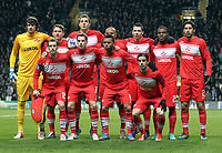 Football - 2012 / 2013 Champions League - Group G: Celtic vs. Spartak Moscow<br /> <br /> Colorsport<br /> <br /> Spartak team group during the Champions League Group G match between  Celtic vs. Spartak Moscow at Celtic Park, Glasgow<br /> <br /> 6th December 2012