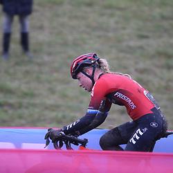 03-01-2021: Wielrennen: Vestingcross: Hulst: Annemarie Worst