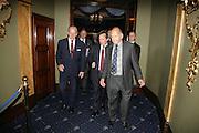 The Duke of Edinburgh and Brian Stein, The Duke of Edinburgh, Guards Polo Club  reception. CafŽ de Paris, Coventry Street. London. 15 May 2007. -DO NOT ARCHIVE-© Copyright Photograph by Dafydd Jones. 248 Clapham Rd. London SW9 0PZ. Tel 0207 820 0771. www.dafjones.com.