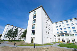 Renovated modern apartments at former Nazi era buildings at former resort Prora on Rugen Island in Mecklenburg Vorpommern Germany