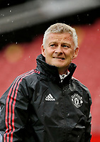 Football - 2021 / 2022 Pre-Season Friendly - Manchester United vs Everton - Old Trafford - Saturday 7th August 2021<br /> <br /> Manchester United manager Ole Gunnar Solskjaer at the end of the game, at Old Trafford.<br /> <br /> COLORSPORT/ALAN MARTIN
