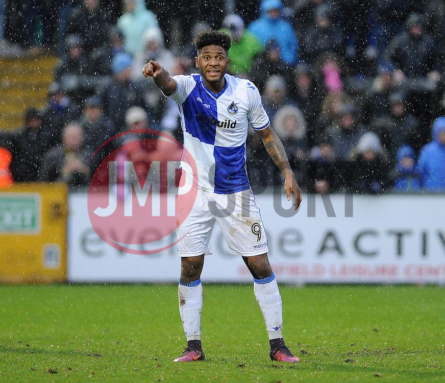 Ellis Harrison of Bristol Rovers - Mandatory by-line: Neil Brookman/JMP - 25/02/2017 - FOOTBALL - Memorial Stadium - Bristol, England - Bristol Rovers v Scunthorpe United - Sky Bet League One